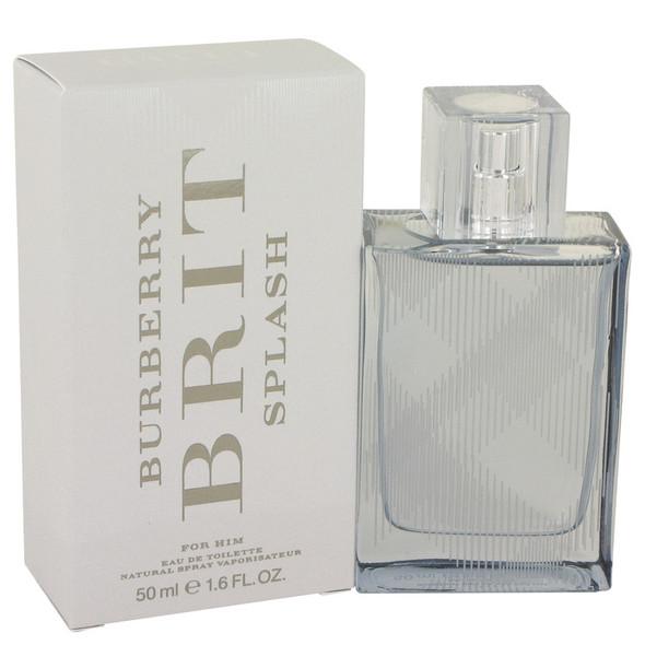 Burberry Brit Splash by Burberry Eau De Toilette Spray for Men