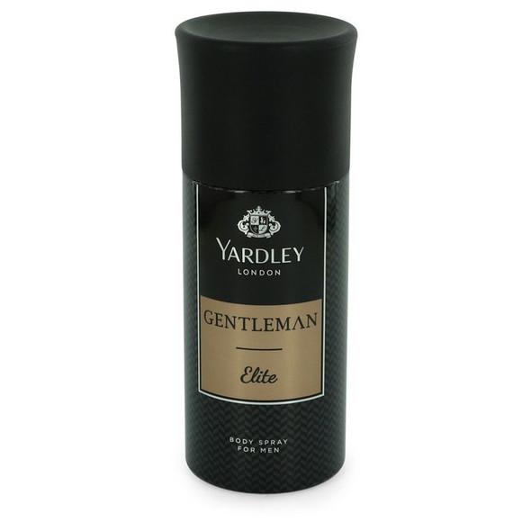 Yardley Gentleman Elite by Yardley London Deodorant Body Spray 5 oz for Men