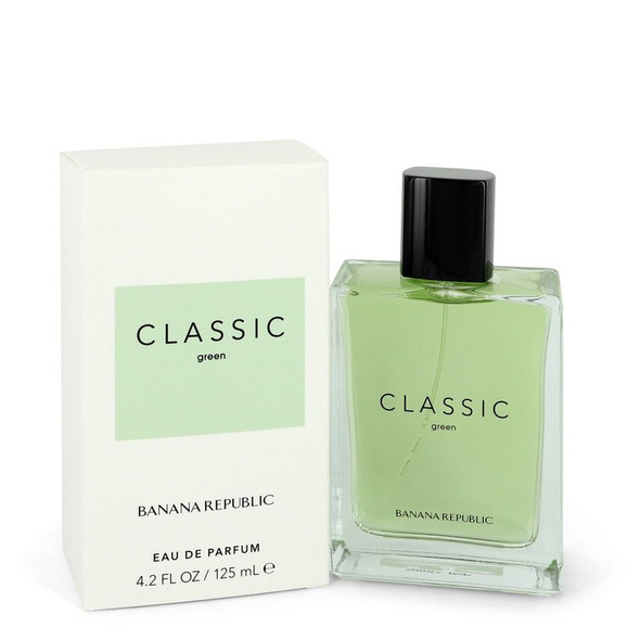 Banana Republic Classic Green by Banana Republic Eau De Parfum Spray (Unisex) 4.2 oz for Women