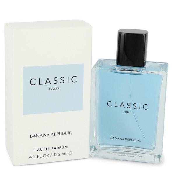 Banana Republic Classic Acqua by Banana Republic Eau De Parfum Spray (Unisex) 4.2 oz for Women