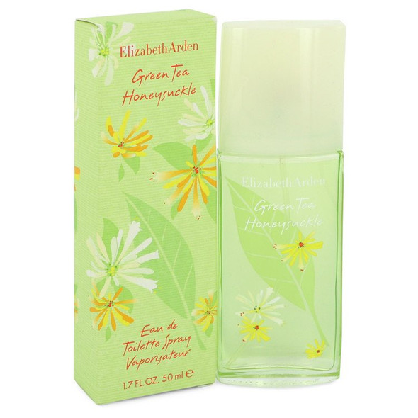 Green Tea Honeysuckle by Elizabeth Arden Eau De Toilette Spray 1.7 oz for Women