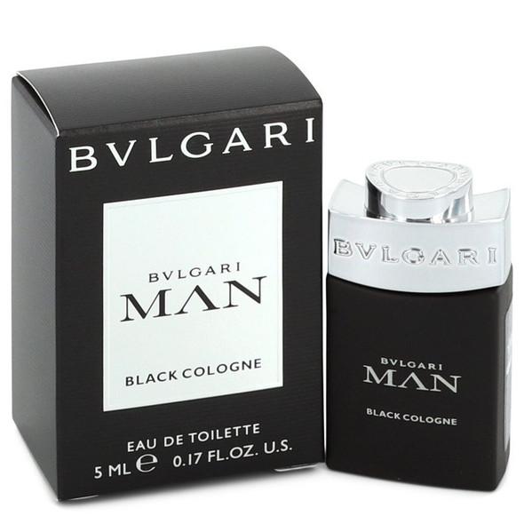 Bvlgari Man Black Cologne by Bvlgari Mini EDT .17 oz for Men