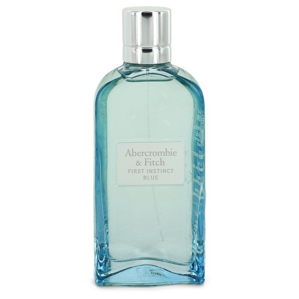 First Instinct Blue by Abercrombie & Fitch Eau De Parfum Spray 3.4 oz for Women - FR550809