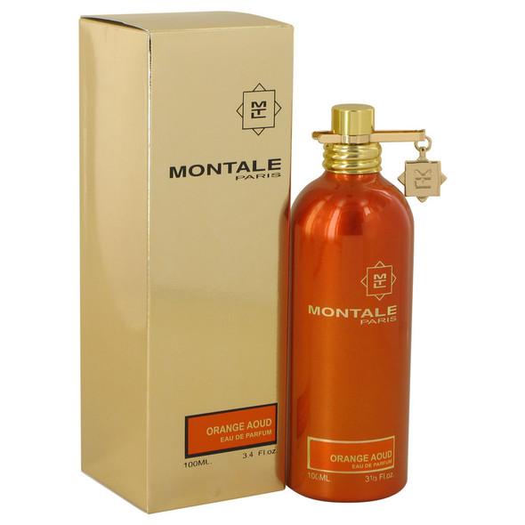 Montale Orange Aoud by Montale Eau De Parfum Spray (Unisex) 3.4 oz for Women