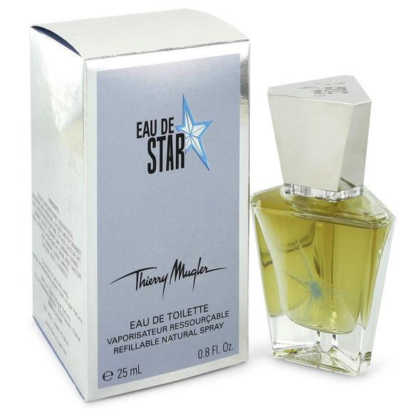 Eau De Star by Thierry Mugler Eau De Toilette Spray Refillable .85 oz for Women