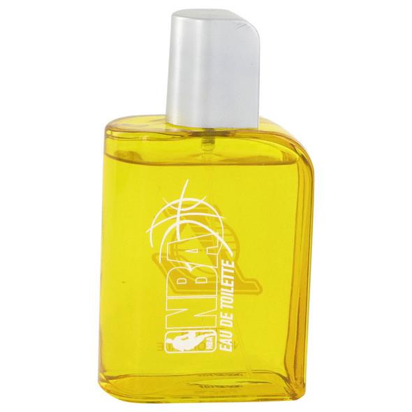 NBA Lakers by Air Val International Eau De Toilette Spray (Tester) 3.4 oz for Men