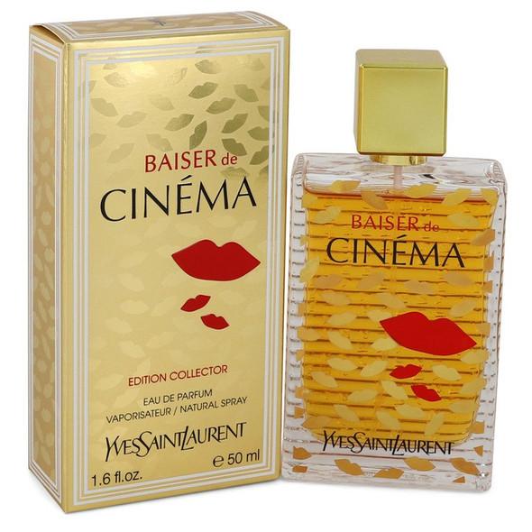 Baiser De Cinema by Yves Saint Laurent Eau De Parfum Spray 1.6 oz for Women