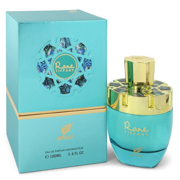Afnan Rare Tiffany by Afnan Eau De Parfum Spray 3.4 oz for Women