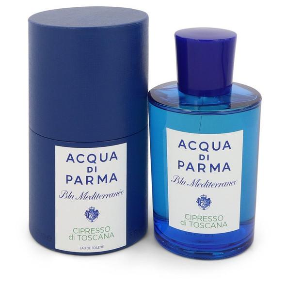 Blu Mediterraneo Cipresso Di Toscana by Acqua Di Parma Eau De Toilette Spray 5 oz for Women