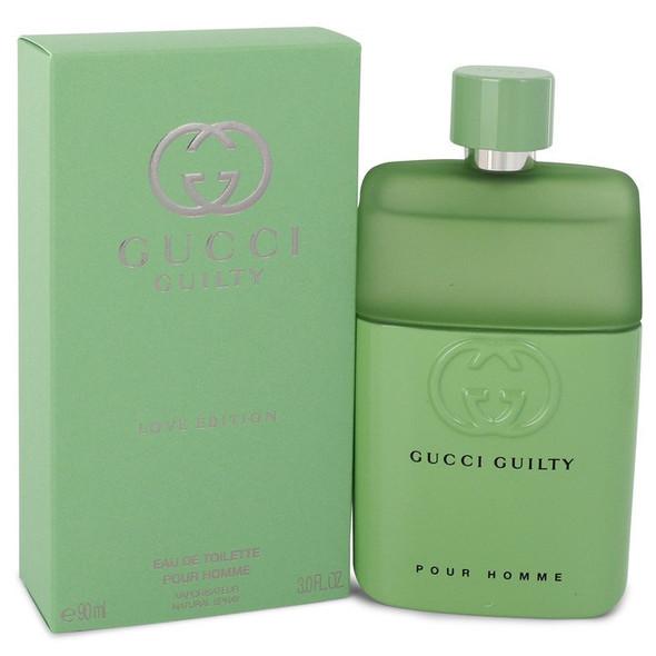 Gucci Guilty Love Edition by Gucci Eau De Toilette Spray oz for Men