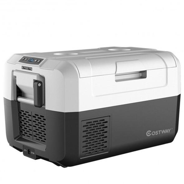 37 Quart Portable Electric Compressor Camping Car Cooler