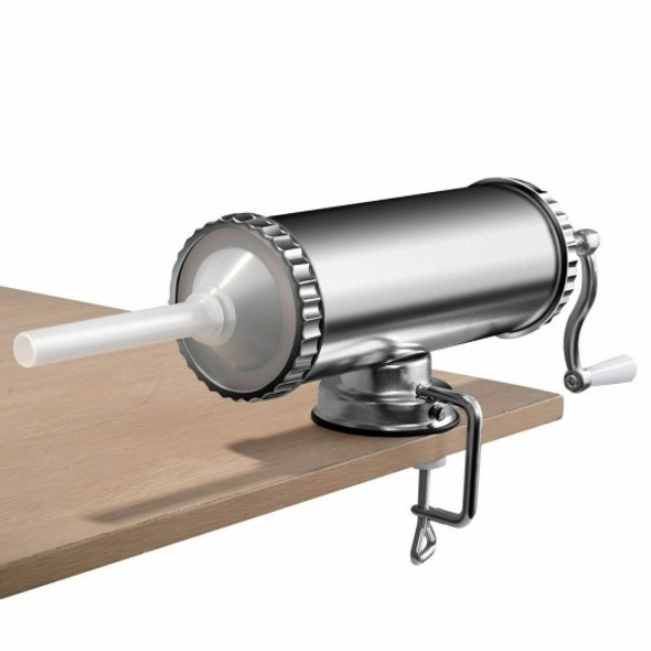3 L Manual Sausage Stuffer Maker with Suction Base