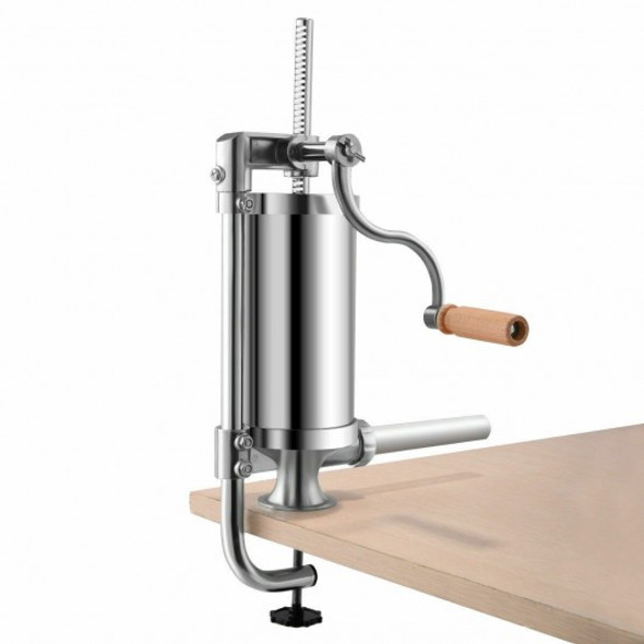 1.5 L Stainless Steel Vertical Sausage Stuffer Maker