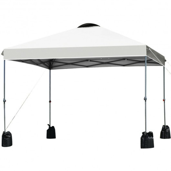 10x10' Outdoor Commercial Pop up Canopy Tent-White