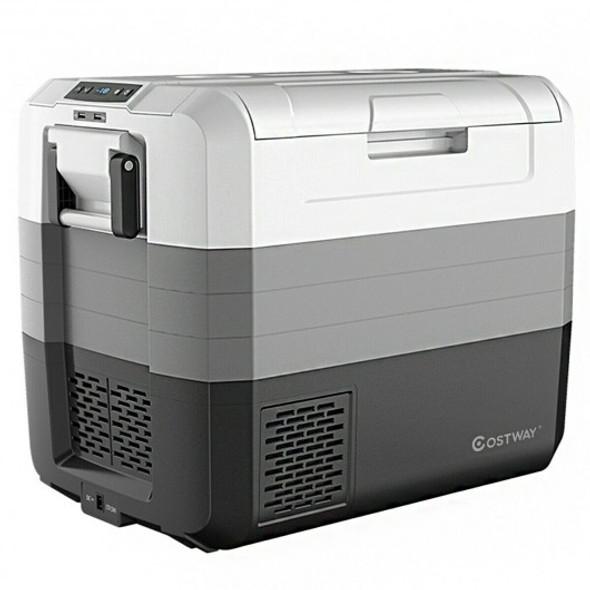 70 Quart Portable Electric Car Camping Cooler
