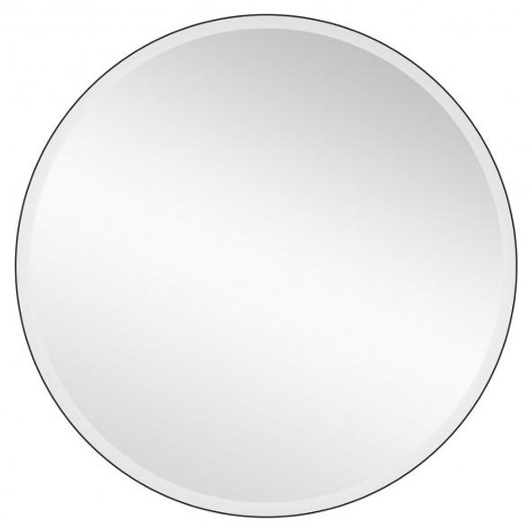 "28"" Round Mirror Wall Mounted Bathroom Mirror"