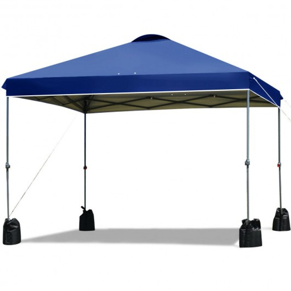 10x10' Outdoor Commercial Pop up Canopy Tent-Blue
