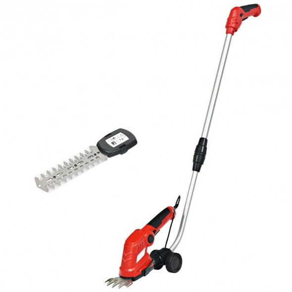 7.2V Cordless Grass Shear with Extension Handle