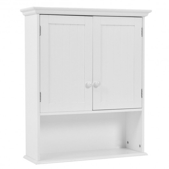 Wall-mounted Bathroom Medicine Cabinet-White