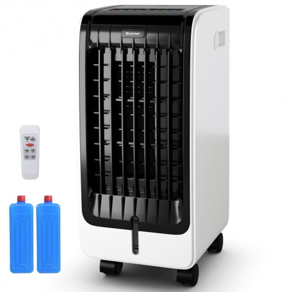 Portable Cooling Touch Pad Remote Evaporative Fan Fan