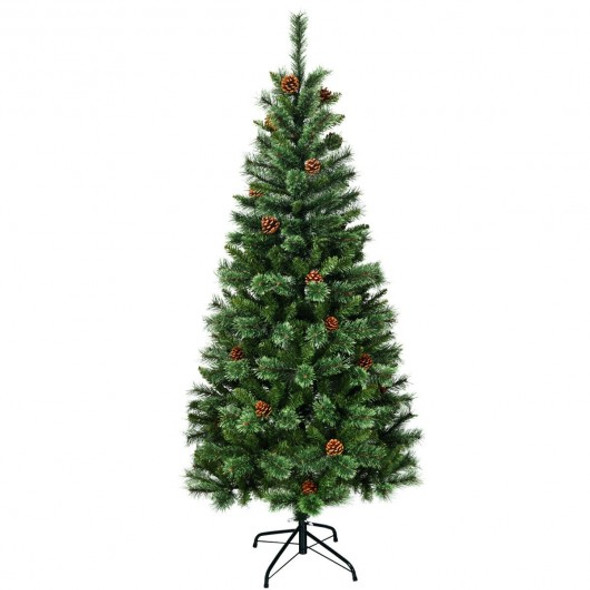 6 ft Premium Hinged Artificial Christmas Tree