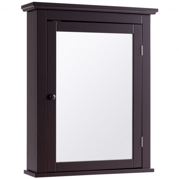 Bathroom Wall Mounted Storage Mirror Medicine Cabinet