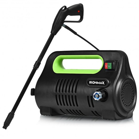 1800 PSI Portable Electric High Pressure Washer 1.96 GPM 1800 W-Green