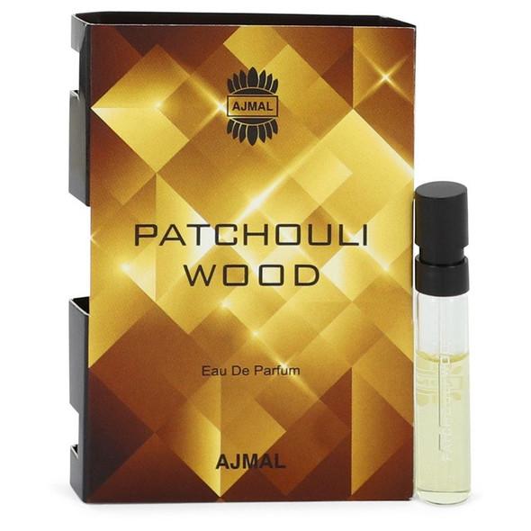 Ajmal Patchouli Wood by Ajmal Vial (sample) .05 oz for Men