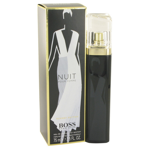 Boss Nuit by Hugo Boss Eau De Parfum Spray (Runway Edition -Tester) 2.5 oz for Women