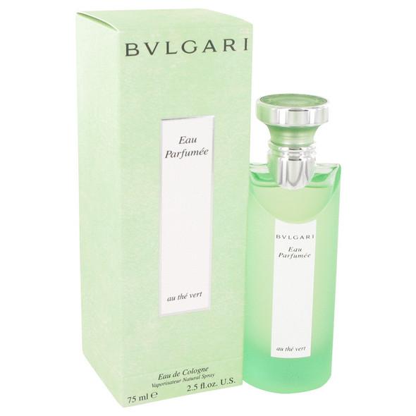 BVLGARI EAU PaRFUMEE (Green Tea) by Bvlgari Cologne Spray (Unisex) 2.5 oz for Men