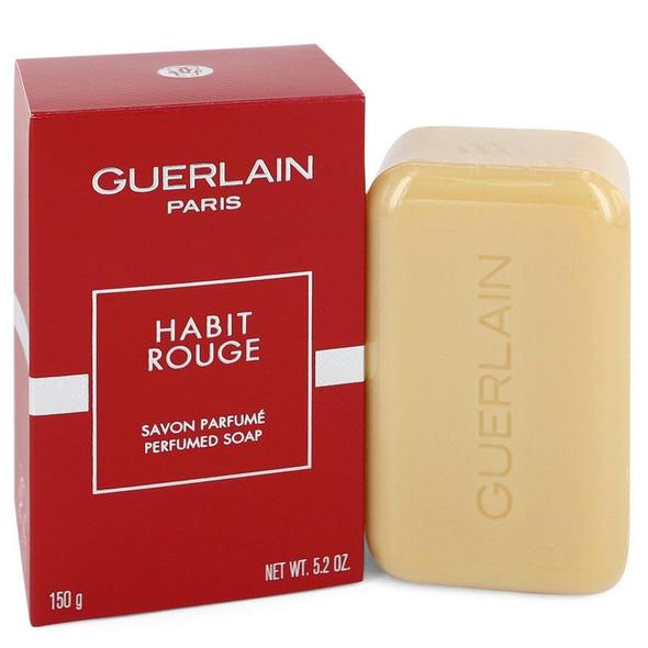 HABIT ROUGE by Guerlain Perfumed Soap 5.2 oz for Men