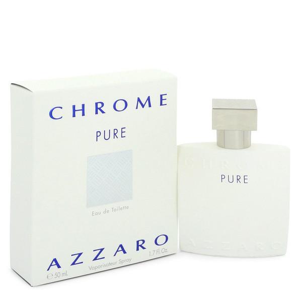 Chrome Pure by Azzaro Eau De Toilette Spray for Men