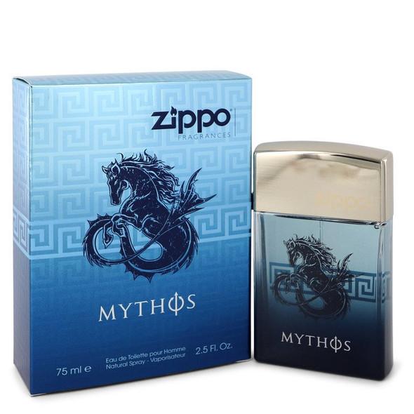 Zippo Mythos by Zippo Eau De Toilette Spray for Men
