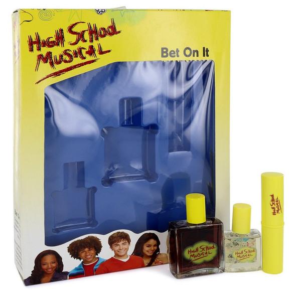 High School Musical by Disney Gift Set -- 1 oz Cologne Spray + .5 oz Pocket Spray + .25 oz Shimmer Stick for Women