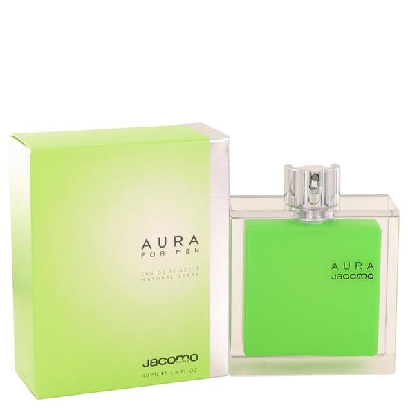 AURA by Jacomo Eau De Toilette Spray 1.4 oz for Men