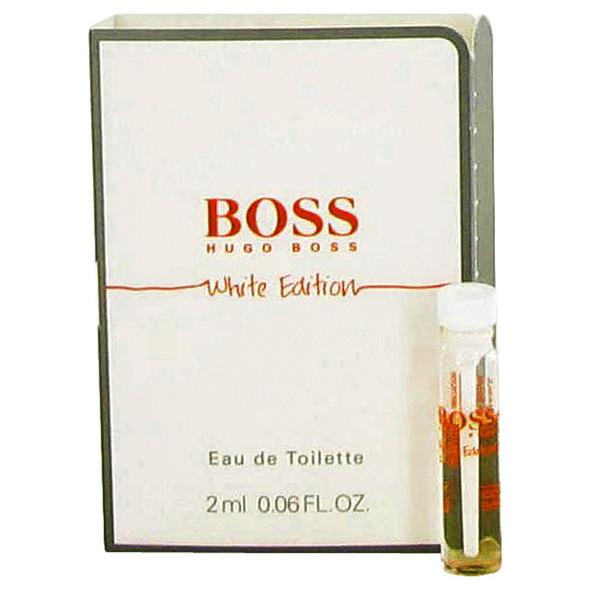 Boss In Motion White by Hugo Boss Vial (sample) .06 oz for Men