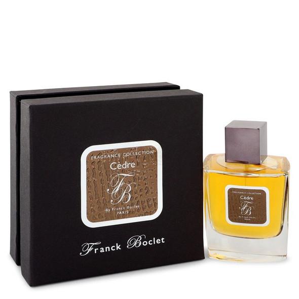 Franck Boclet Cedre by Franck Boclet Eau De Parfum Spray 3.4 oz for Men