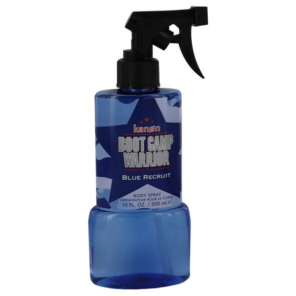 Kanon Boot Camp Warrior Blue Recruit by Kanon Body Spray 10 oz for Men