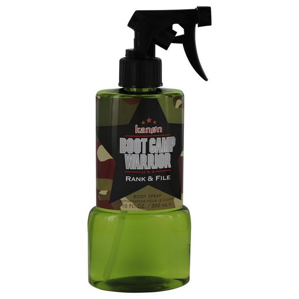 Kanon Boot Camp Warrior Rank & File by Kanon Body Spray 10 oz for Men