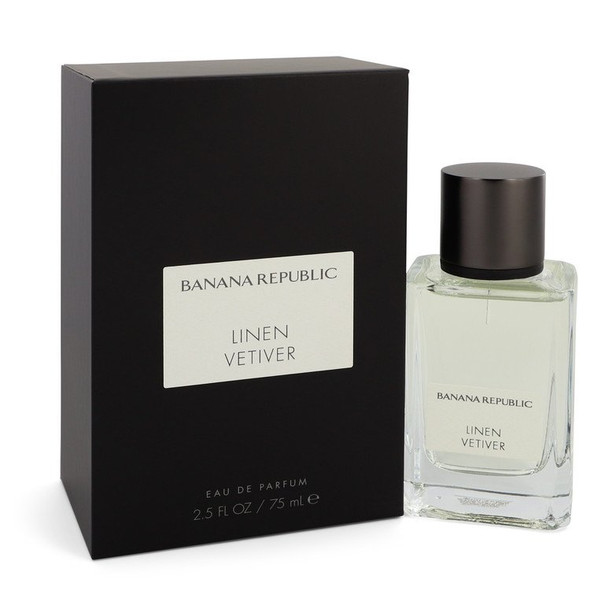 Banana Republic Linen Vetiver by Banana Republic Eau De Parfum Spray (Unisex) 2.5 oz for Women