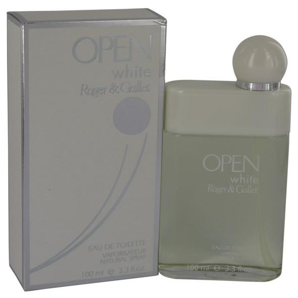 Open White by Roger & Gallet Eau De Toilette Spray 3.3 oz for Men