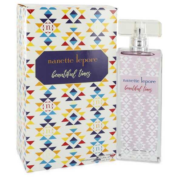 Beautiful Times by Nanette Lepore Eau De Parfum Spray 3.4 oz for Women
