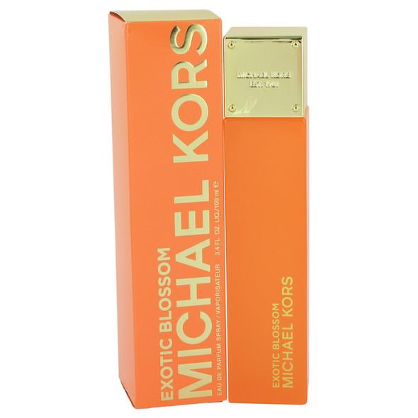 Michael Kors Exotic Blossom by Michael Kors Eau De Parfum Spray 3.4 oz for Women