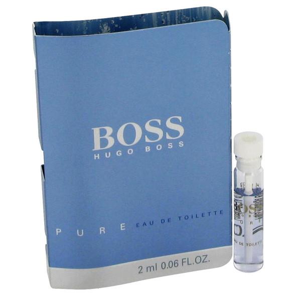 Boss Pure by Hugo Boss Vial (sample) .06 oz for Men