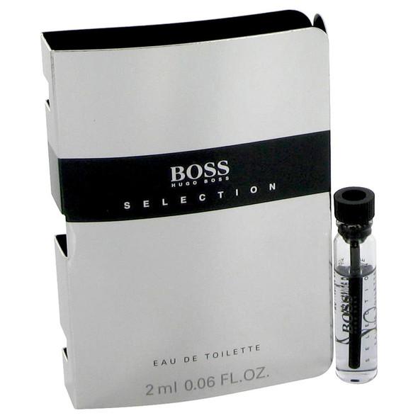 Boss Selection by Hugo Boss Vial (sample) .06 oz for Men