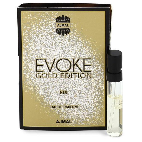 Evoke Gold by Ajmal Vial (sample) .05 oz for Men
