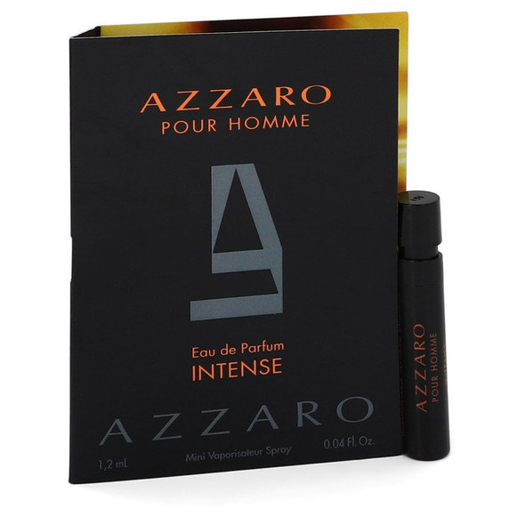 Azzaro Intense by Azzaro Vial (sample) .04 oz for Men