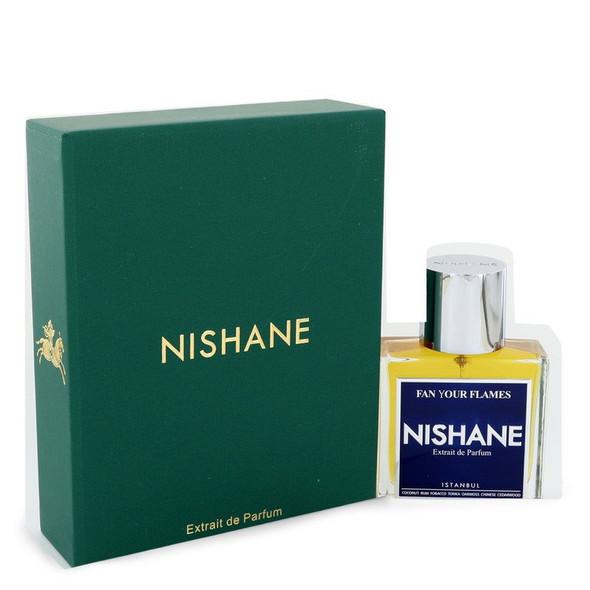 Fan Your Flames by Nishane Extrait De Parfum Spray (Unisex) 1.7 oz for Women
