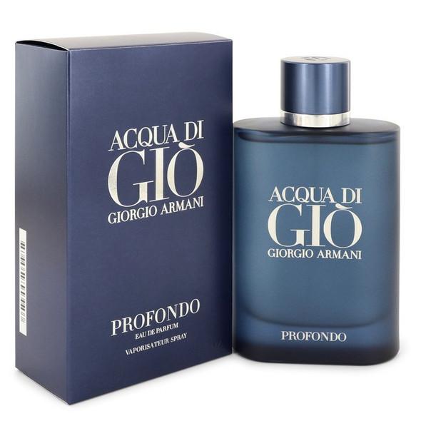 Acqua Di Gio Profondo by Giorgio Armani Eau De Parfum Spray for Men