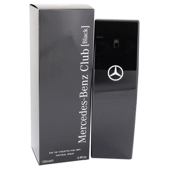 Mercedes Benz Club Black by Mercedes Benz Eau De Toilette Spray 3.4 oz for Men